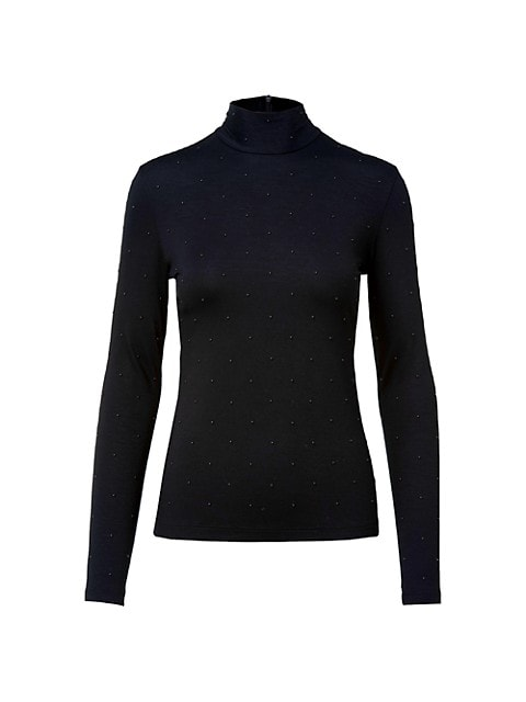 Mockneck Long-Sleeve T-Shirt