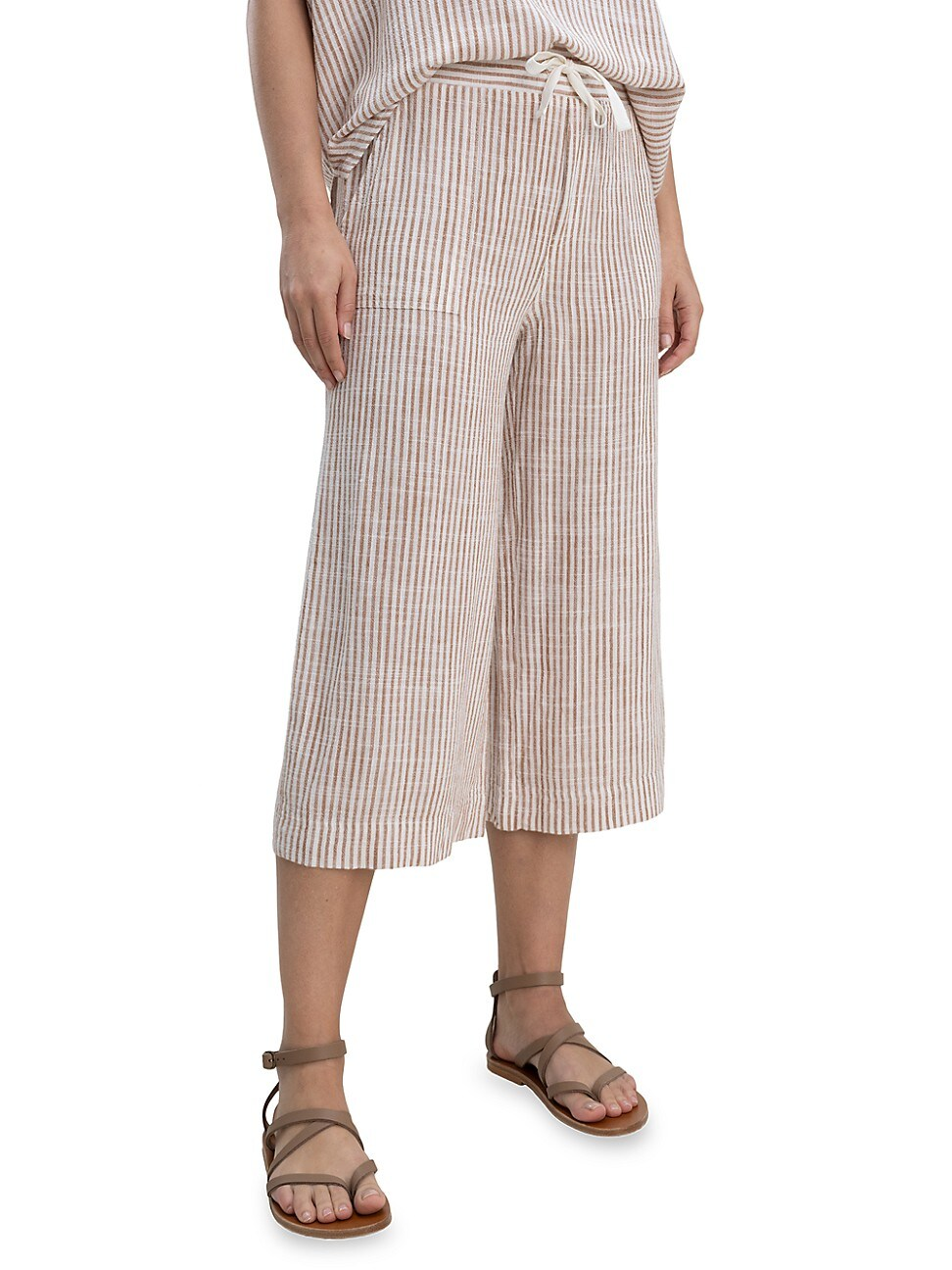 Splendid WOMEN'S PUEBLO STRIPE CROPPED PANTS