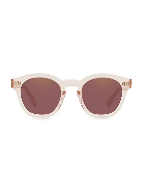 Boudreau L.A. 48MM Round Sunglasses