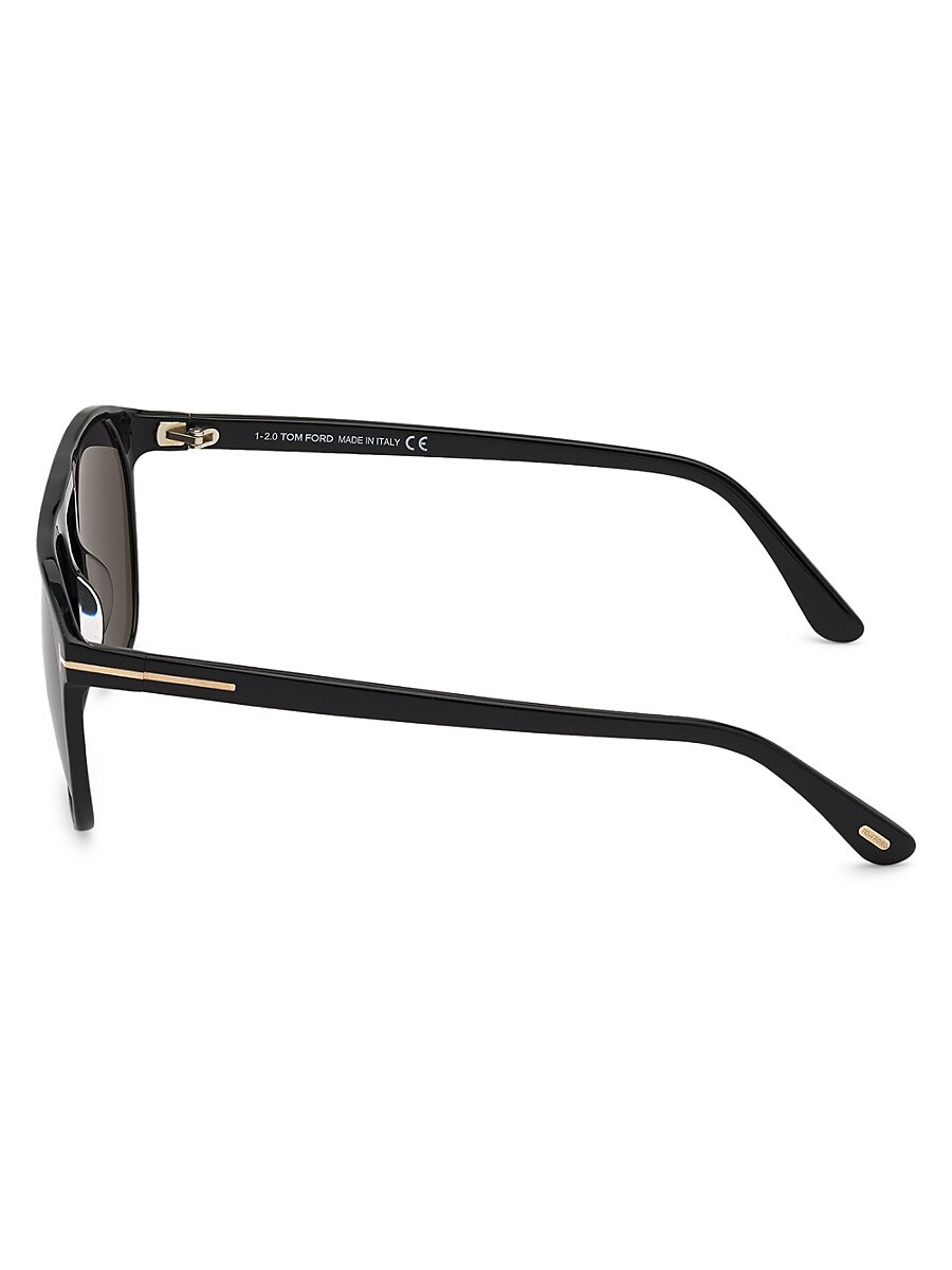 TOM FORD Sunglasses MEN'S JASPER 58MM ROUND SUNGLASSES
