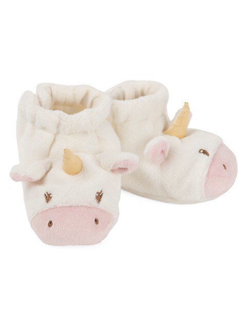 Baby's Luna Unicorn Rattle Booties