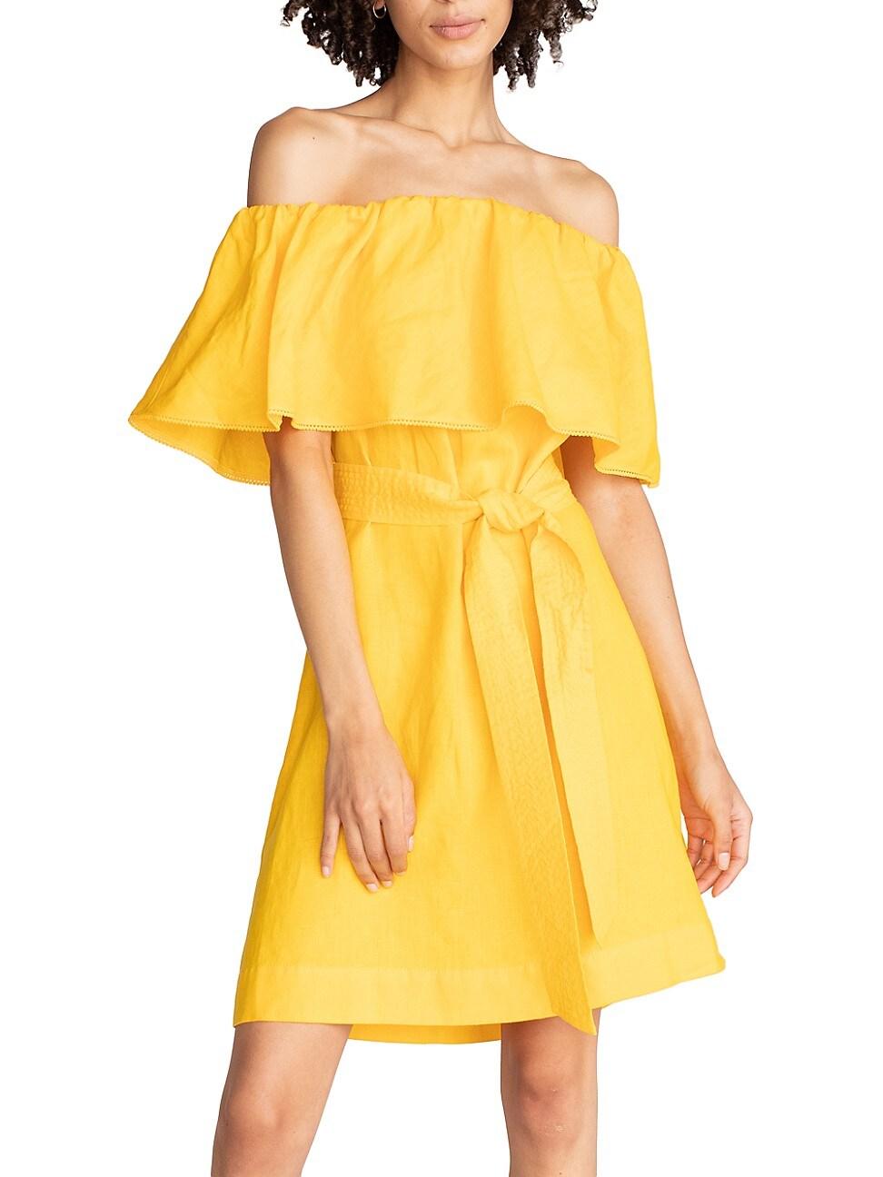 Trina Turk WOMEN'S RESTFUL LINEN DRESS