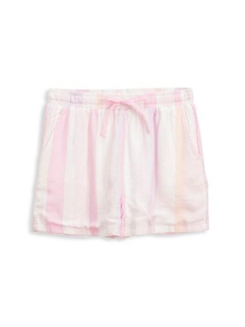 Girl's Cali Stripe Shorts