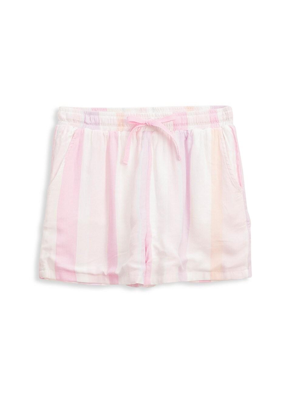 Splendid Shorts GIRL'S CALI STRIPE SHORTS
