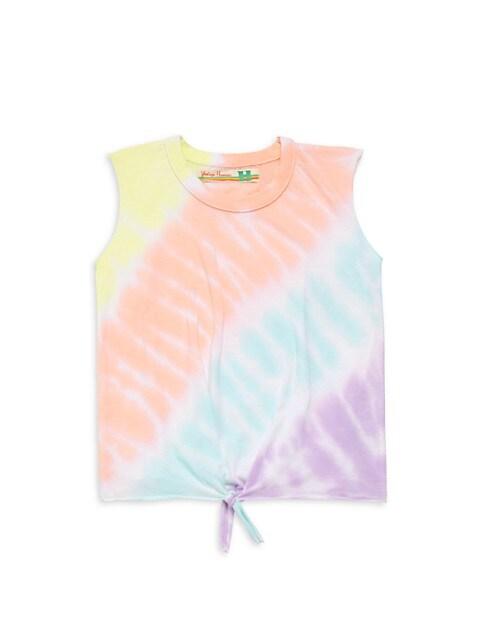 Girl's Sorbet Tie-Dye Tank