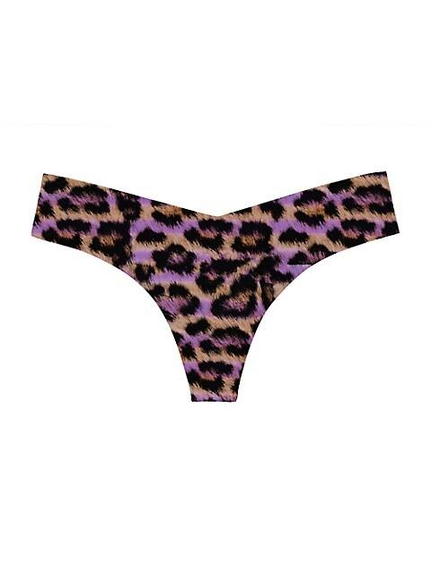 Leopard-Print Thong