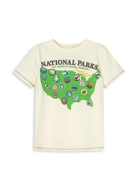 Little Boy's & Boy's Adventure Awaits T-Shirt