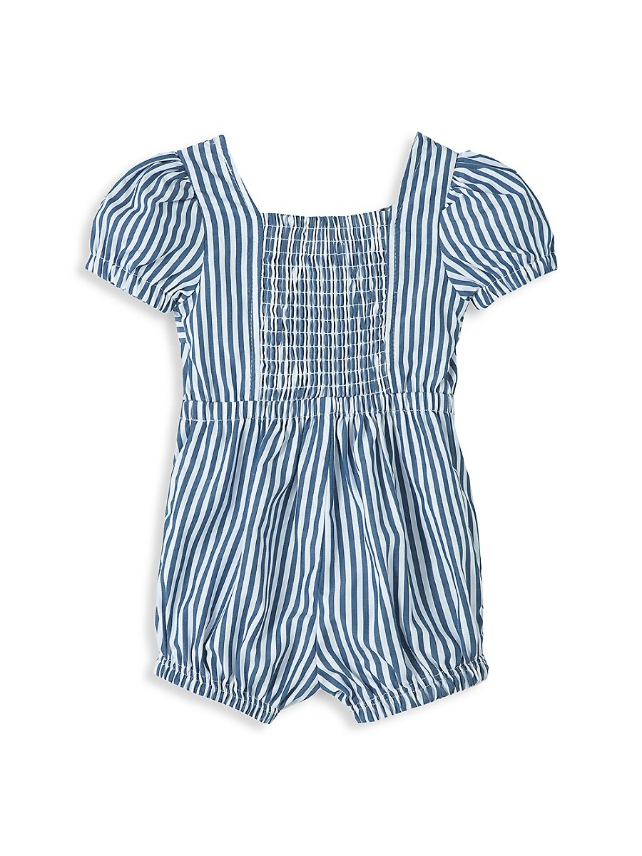 HABITUAL Climbing clotheses BABY GIRL'S CAP-SLEEVE TIE-FRONT ROMPER