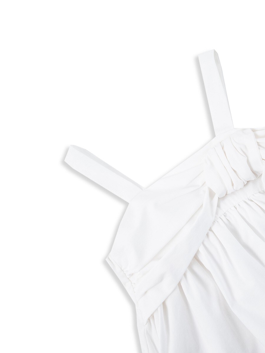 HABITUAL Cottons BABY GIRL'S 2-PIECE DRAPED BABYDOLL & SHORTS SET