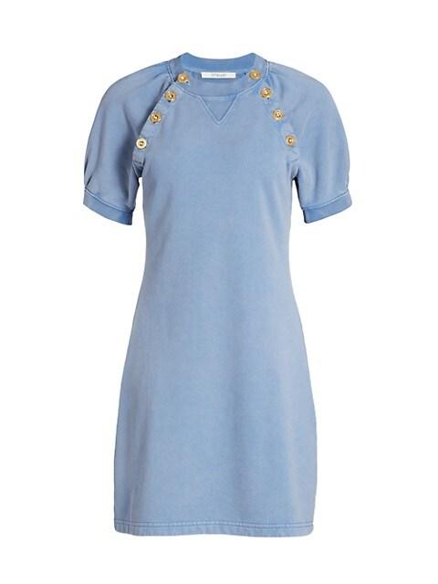 Karli Sailor Button Sheath Dress