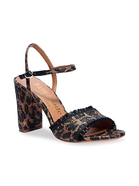 Olivia Raffia Tassle Sandal