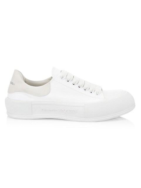 Men's Plimsoll Low-Top Sneakers