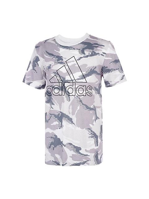 Boy's Action Camo Print T-Shirt