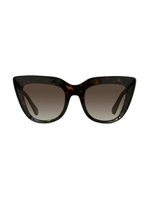 55MM Cat-Eye Sunglasses