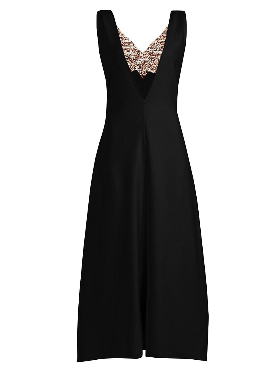 Proenza Schouler WOMEN'S LAYERED V-NECK DRESS