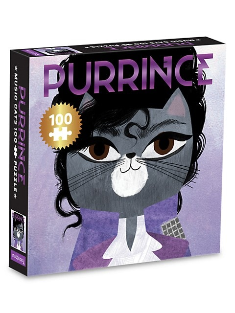 Purrince Music Cats 100-Piece Puzzle