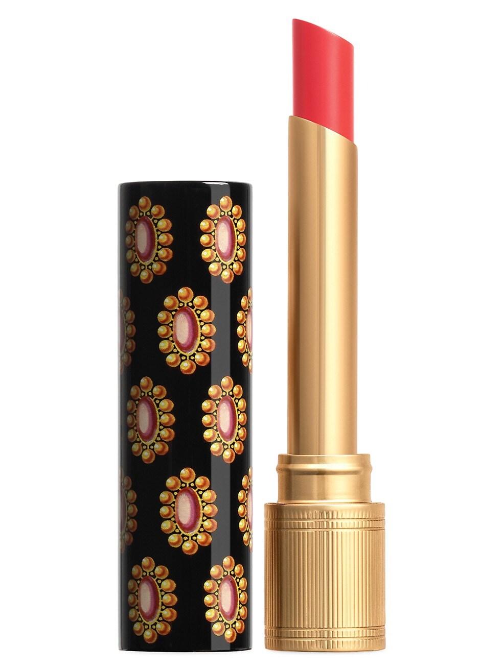 Gucci Rouge de Beaute Brilliant Shine Glow and Care Lipstick