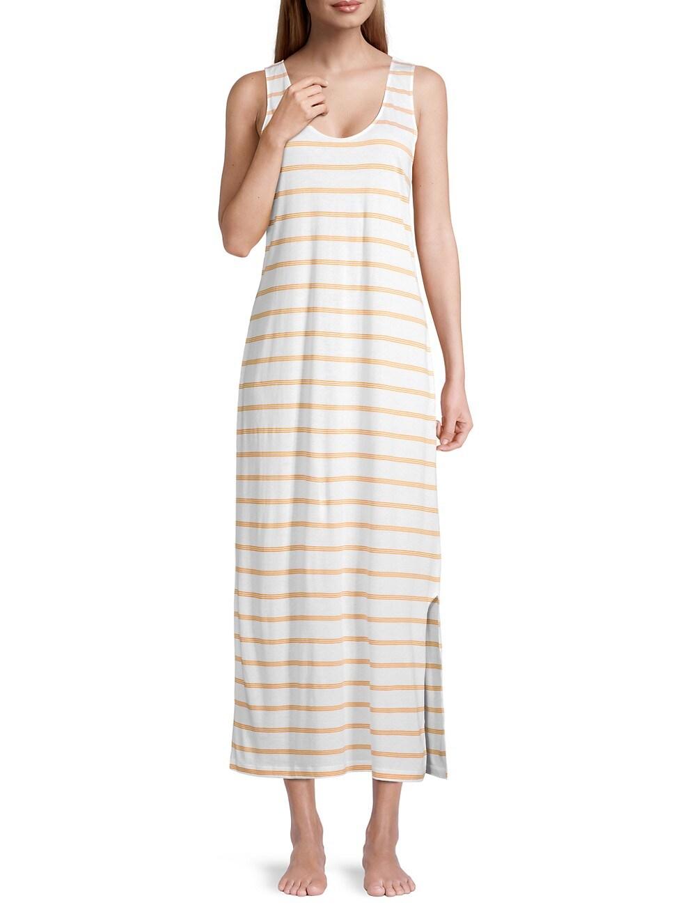 Hanro Laura Striped Midi Dress