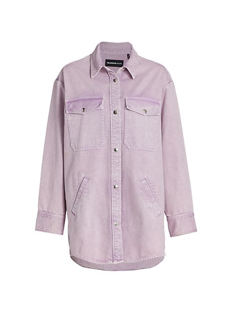 Denim Long-Sleeve Shirt