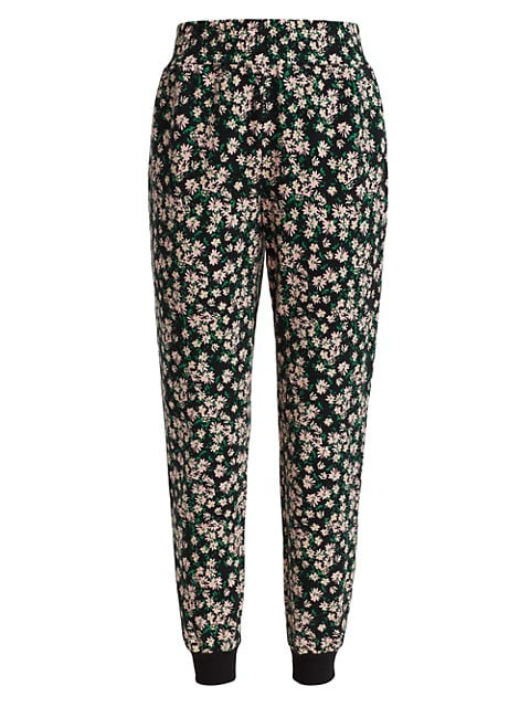 NYC Floral Slim Joggers