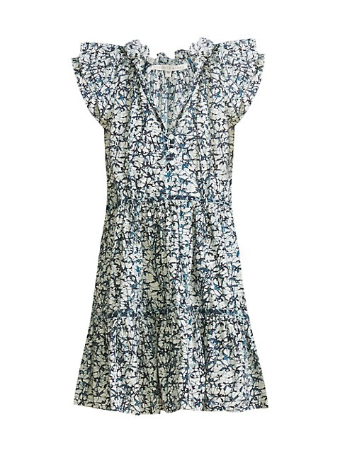 Zee Floral Ruffle Dress