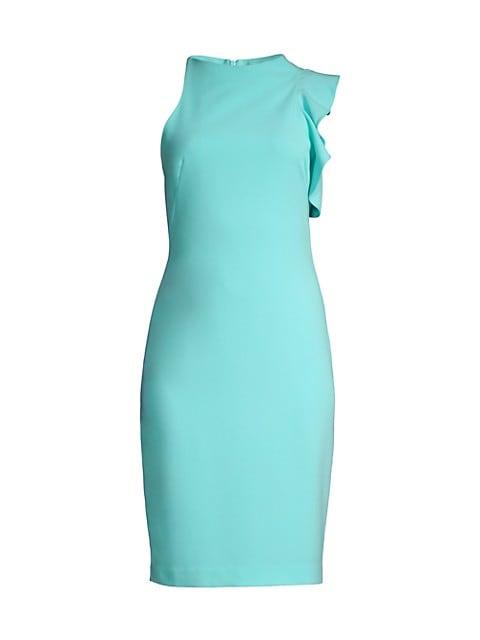 Pabla Ruffle Sheath Dress