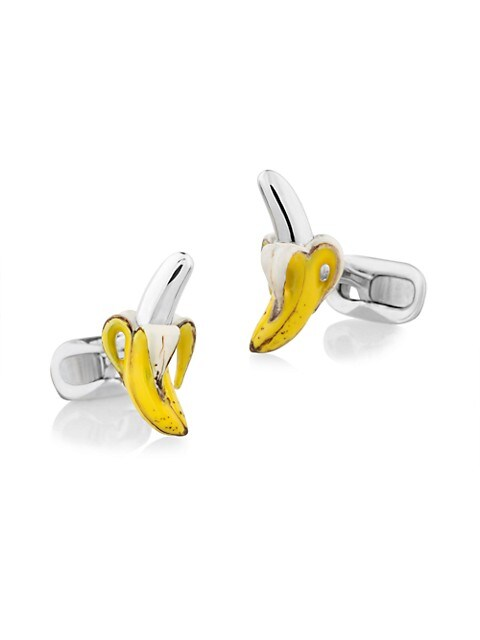 The Reed Banana Sterling Silver Cufflinks