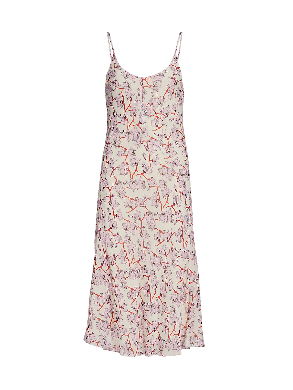 Rag & Bone WOMEN'S EVA FLORAL MIDI SLIP DRESS