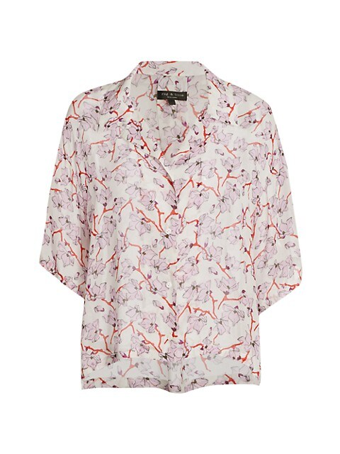 Reed Floral Short-Sleeve Shirt