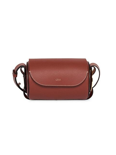 Mini Darryl Leather Barrel Bag