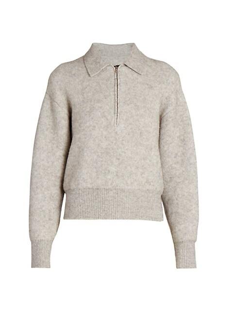 Rane Quarter-Zip Sweater