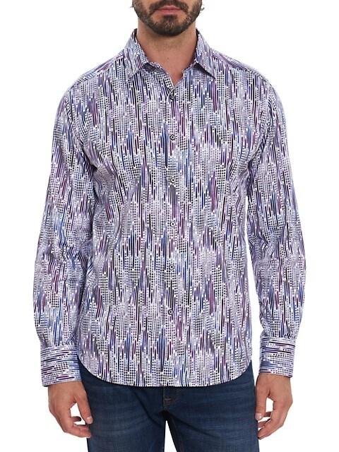 Rivers Classic-Fit Printed Sport Shirt