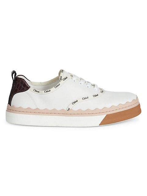Lauren Leather Sneakers