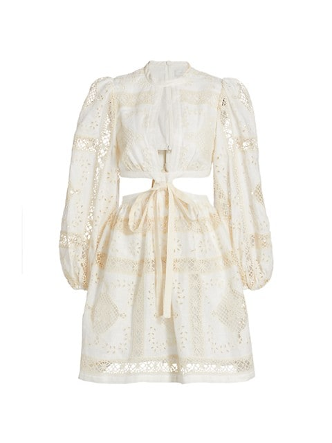 Aliane Embroidered Dress
