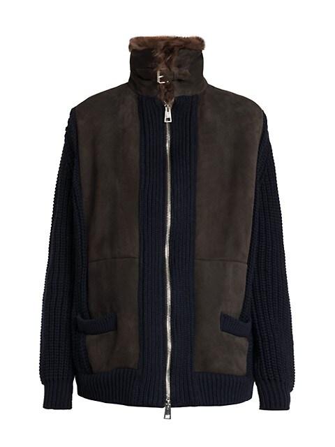 Fur & Knit Jacket