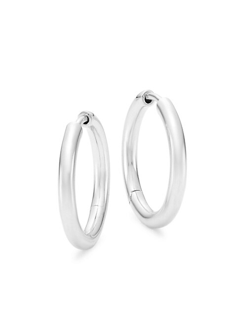 The Classic Medium Hoop Earrings