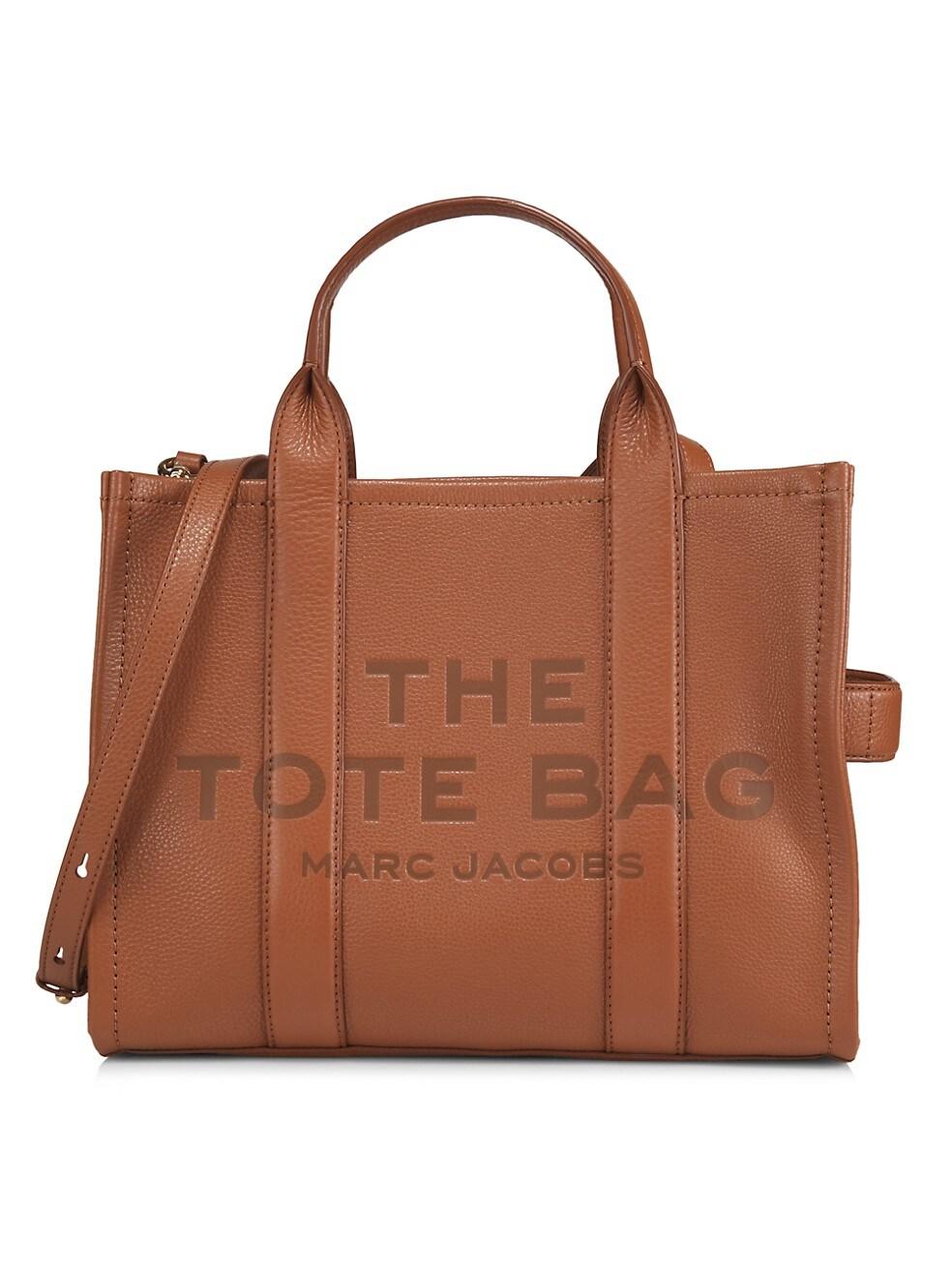 마크 제이콥스 토트백 Marc Jacobs Small Traveler Leather Tote,ARGAN OIL