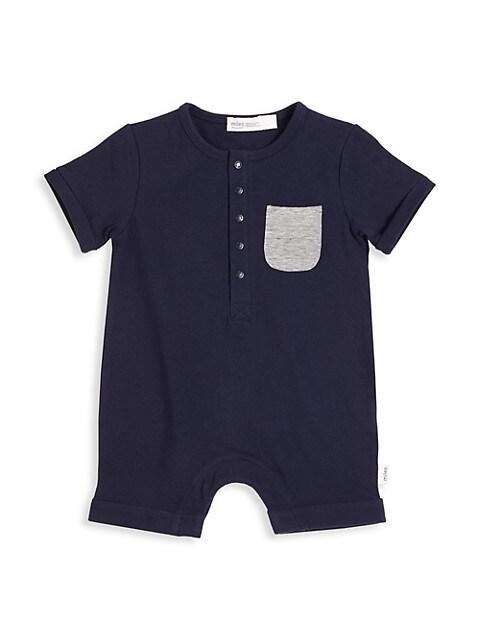 Baby Boy's Short-Sleeve Romper