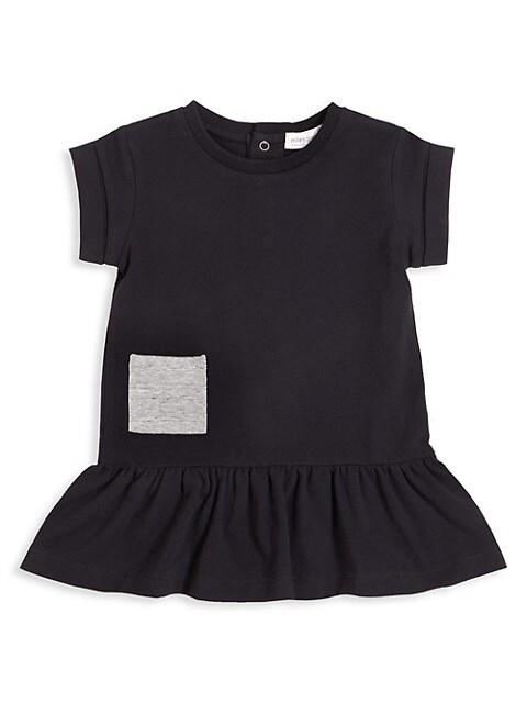 Little Girl's & Girl's Short-Sleeve Knit Dress