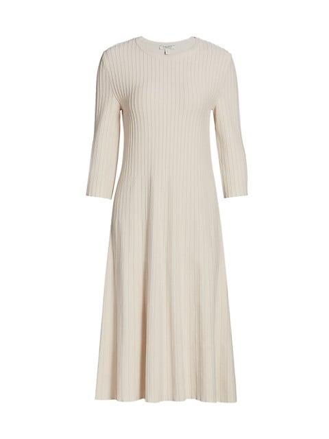 Musa Rib-Knit Midi Dress