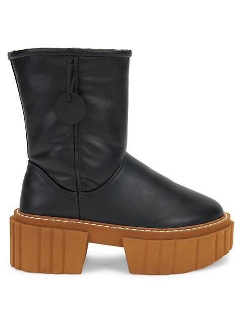 Emilie Matte Vegetarian Leather Boots