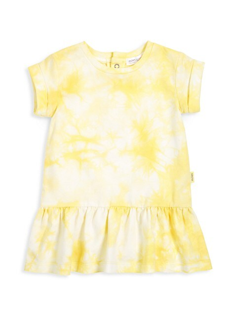 Baby Girl's Sunshine Tie-Dye Dress