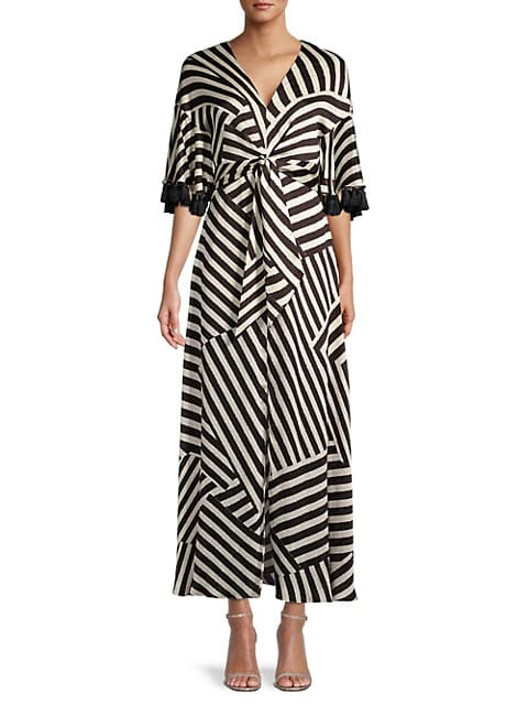 Jacynda Optic Striped Dress