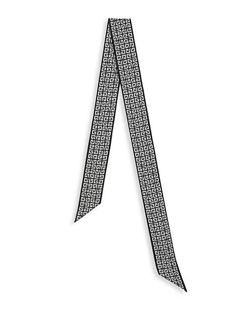 4G Monogram Silk Twilly