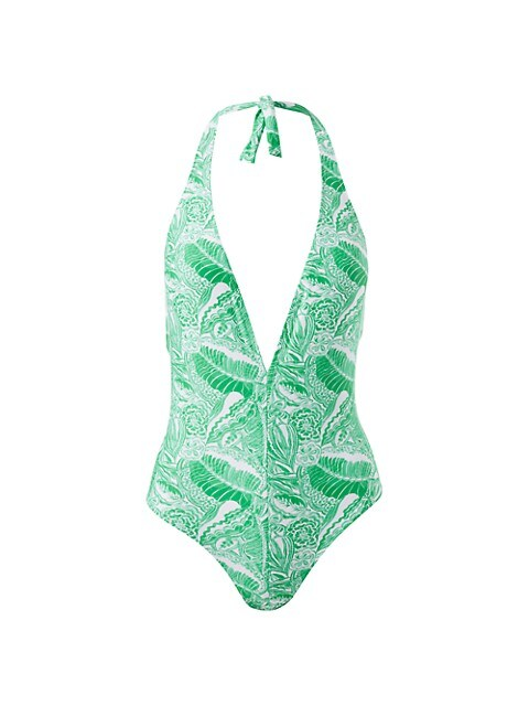 Palma Halterneck One-Piece Swimsuit