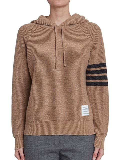 Garment-Dyed Cashmere Hoodie