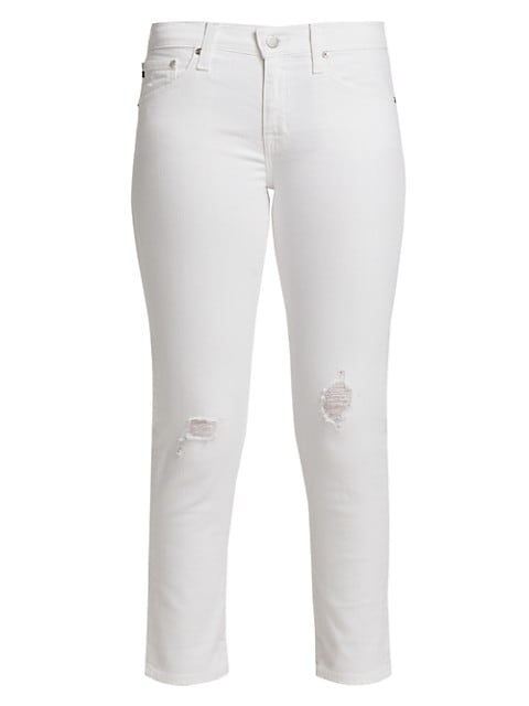 Ex-Boyfriend Slim White Jeans