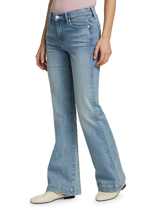 7 For All Mankind BB Denim Tailorless Dojo Wide-Leg Jeans