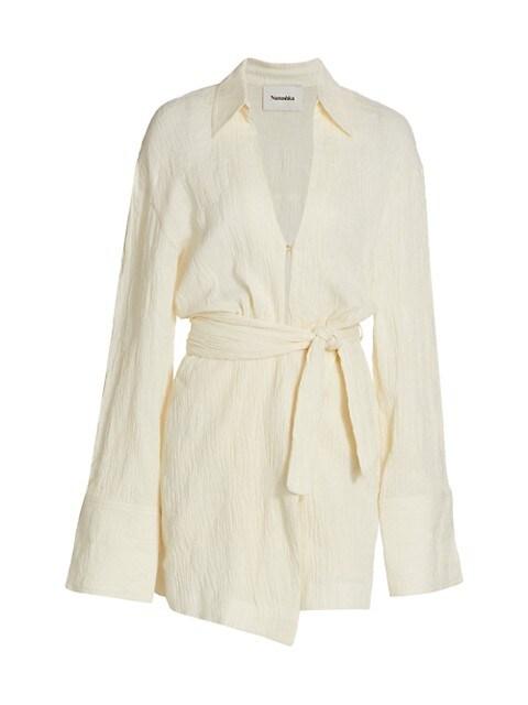Yori Linen Mini Dress