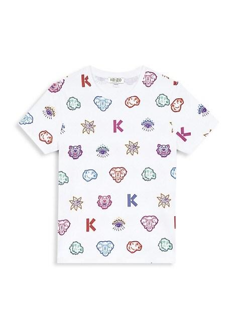 Little Girl's & Girl's Logo T-Shirt